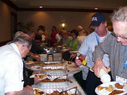 Fish fry at the Springhill Suites