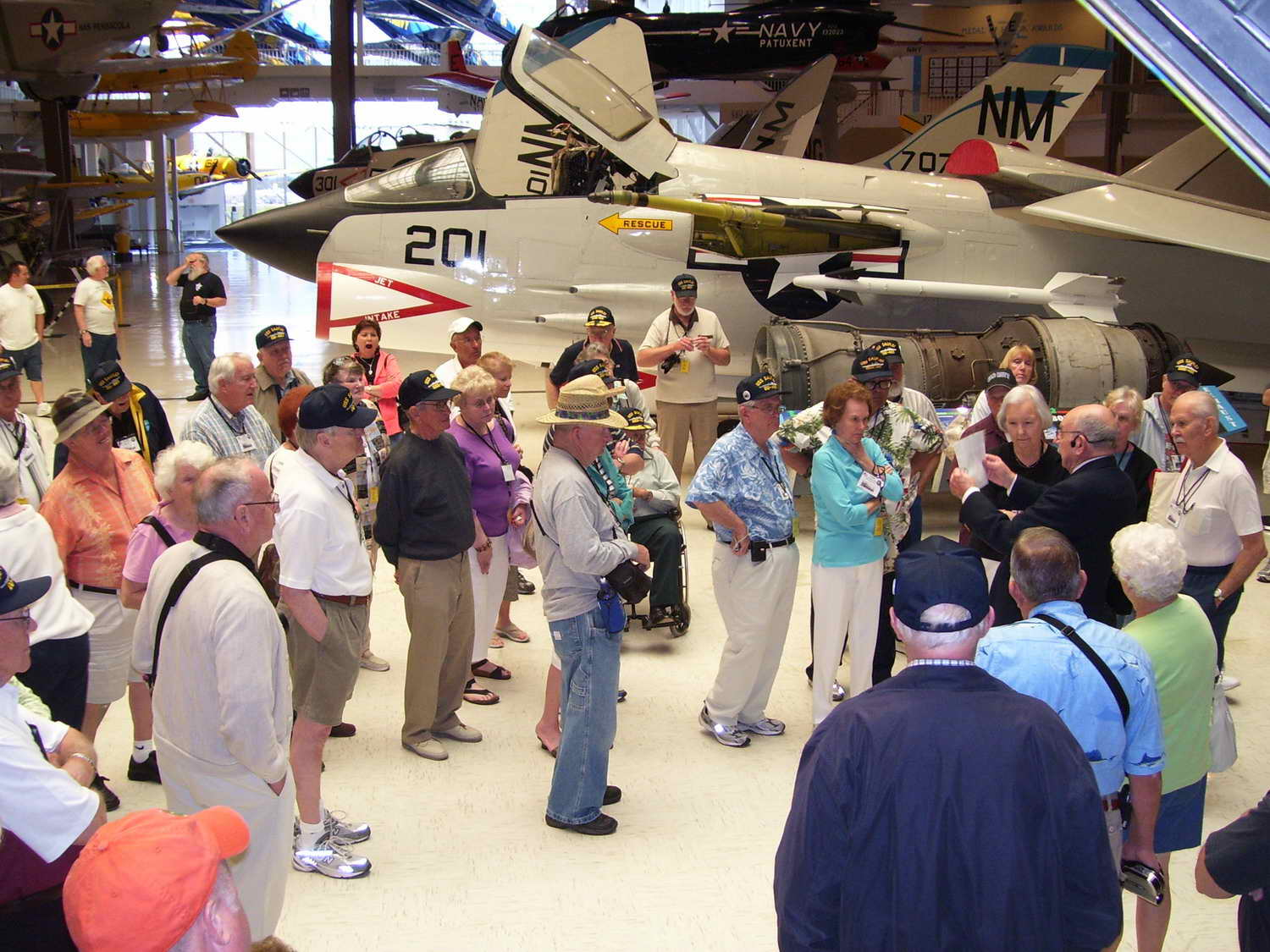 Touring the National Naval Aviation Museum