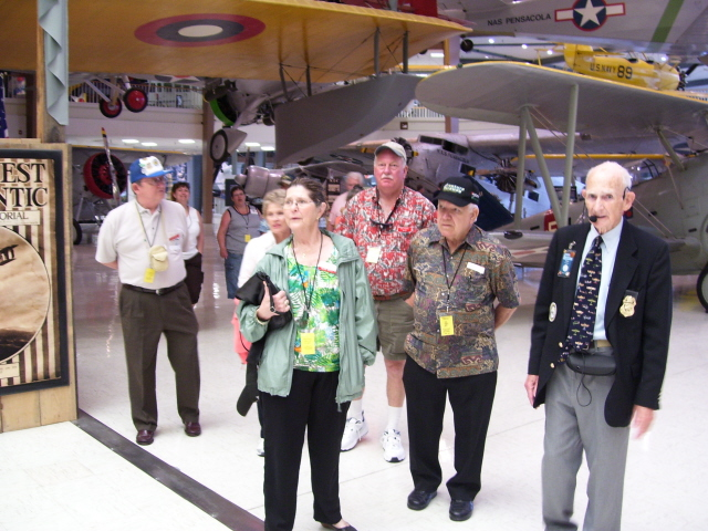 Guided tour of the Naval Air Museum